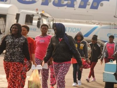 Nigerian government illegal migration